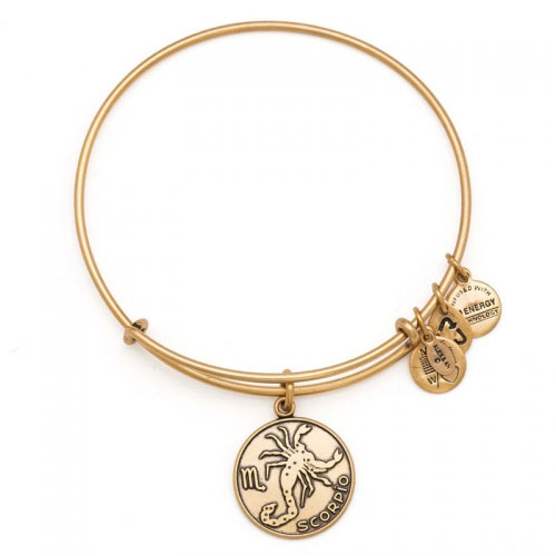 Alex and Ani Scorpio Gold Bangle A13EB01SCRG