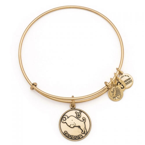 Alex and Ani Taurus Gold Bangle A13EB01TARG