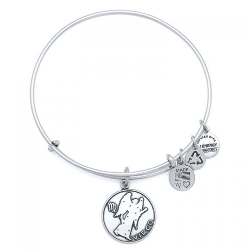 Alex and Ani Virgo Silver Bangle A13EB01VIRS