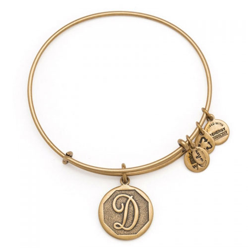 Alex and Ani Initial D Gold Bangle A13EB14DG