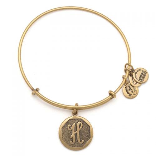 Alex and Ani Initial H Charm Bracelet