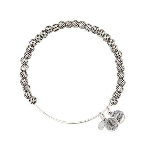 Alex and Ani Euphrates Beaded Silver Bangle BBEB17RS