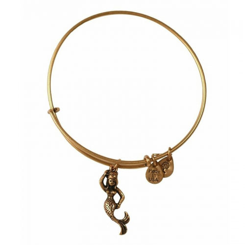 Alex and Ani Mermaid Gold Bangle A11EB110RG