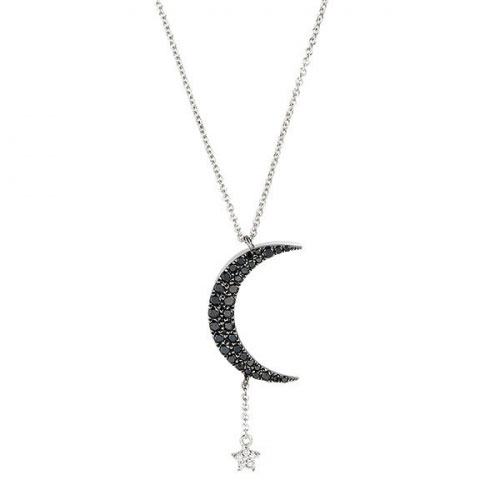 Meira T Moon and Star Necklace 1N7042