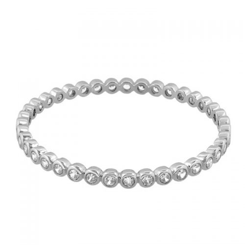 Lauren G Adams Silver Stackable Bangle