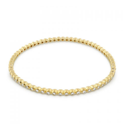 Lauren G Adams Gold Eternity Bangle