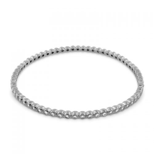 Lauren G Adams Silver Eternity Bangle