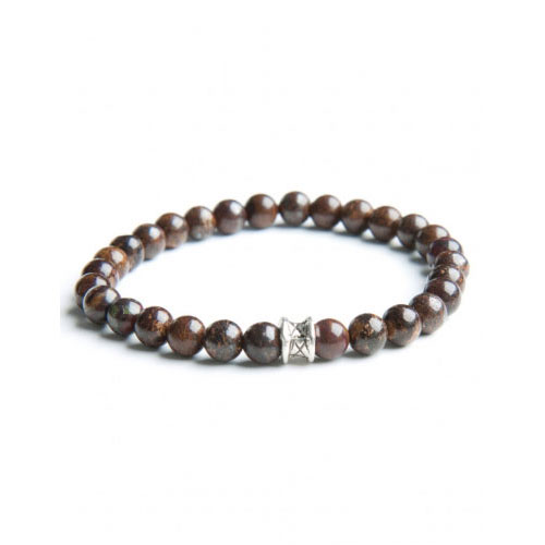 Gemini Small Brown Basic Bracelet