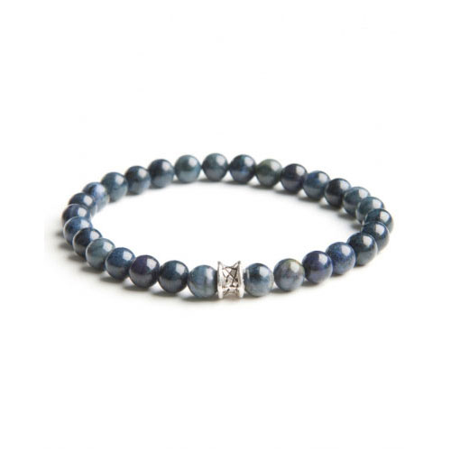 Gemini Small Blue Basic Bracelet