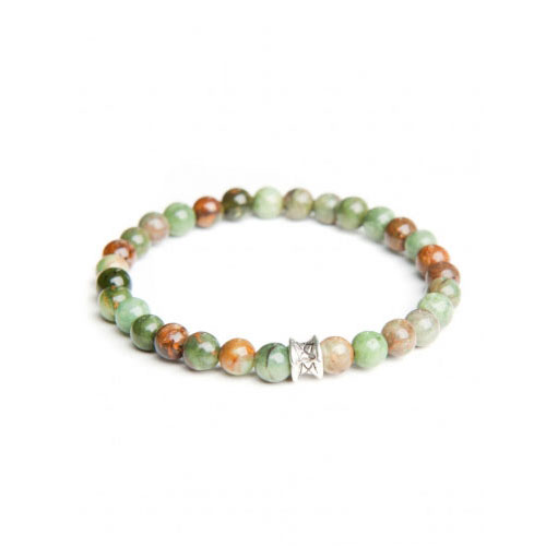 Gemini Small Spring Green Basic Bracelet