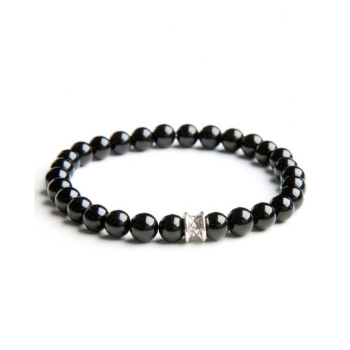 Gemini Medium Black Basic Bracelet