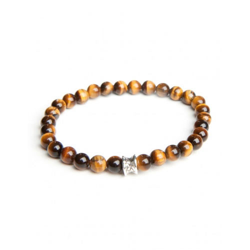 Gemini Medium Tiger Eye Basic Bracelet
