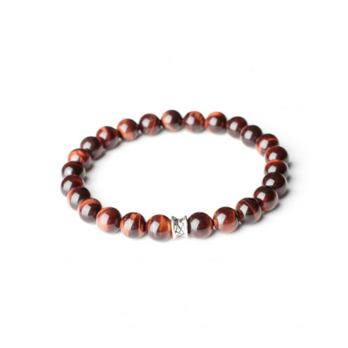 Gemini Small Bordeaux Basic Bracelet