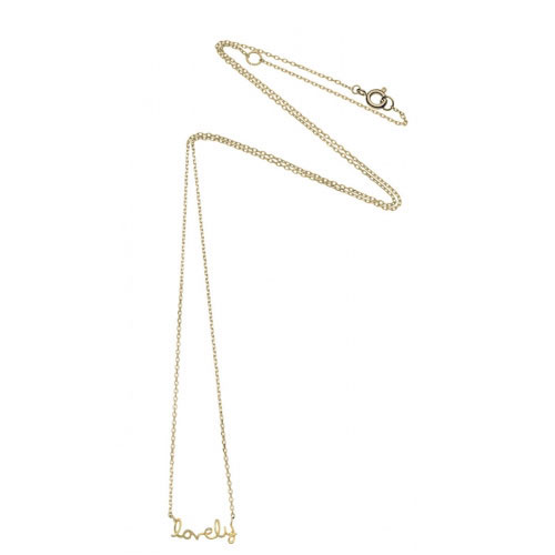 Estella Bartlett Lovely Gold Plated Necklace