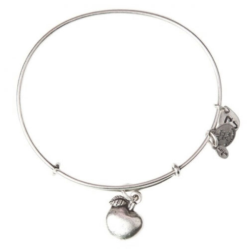 Alex and Ani Apple Of Abundance Silver Bangle A12EB13RS