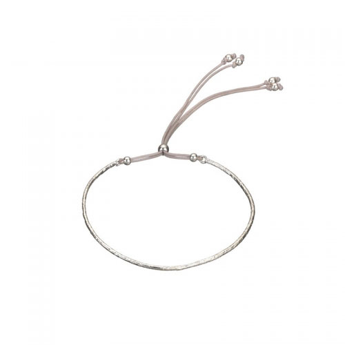 Estella Bartlett Delphine Grey Cord Bangle