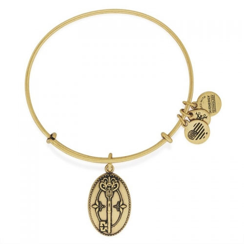 Alex and Ani Key to Life Gold Bangle A16EBKTHRG
