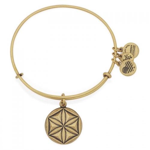 Alex and Ani Aphrodite's Flower Gold Bangle A16EBAFRG