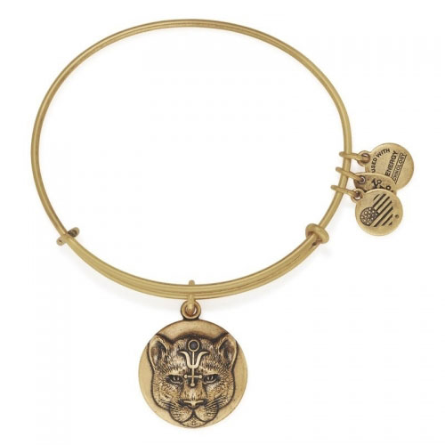 Alex and Ani Wild Heart Gold Bangle A16EBWHRG