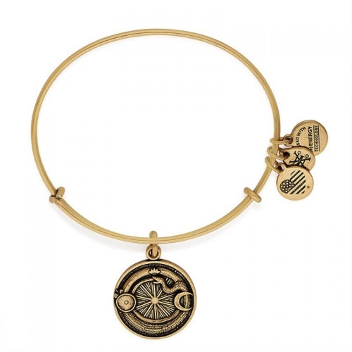 Alex and Ani Ouroboros Path of Symbols Gold Bangle A16EBOBRG