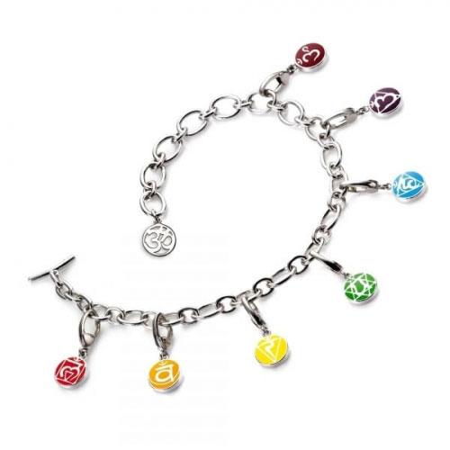 Chakra By Piya Multi Chakra Charm Bracelet