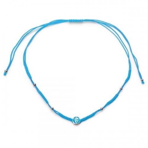 Chakra By Piya Throat Chakra Cord Necklace