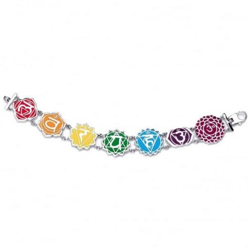Chakra By Piya Multi Chakra Link Bracelet