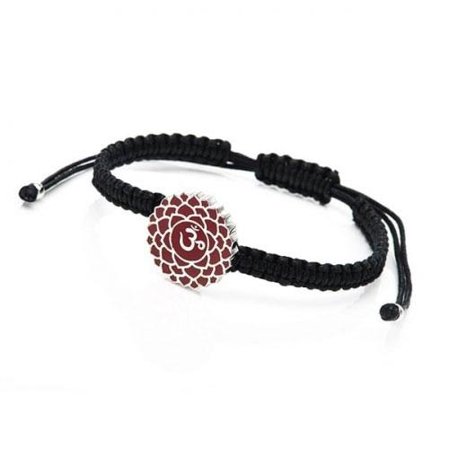 Chakra By Piya Crown Chakra Cord Bracelet