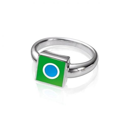 Chakra By Piya Heart Chakra Ring