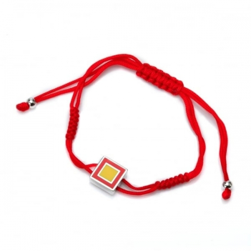Chakra By Piya Root Chakra Cord Bracelet
