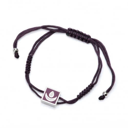 Chakra By Piya Brow Chakra Cord Bracelet