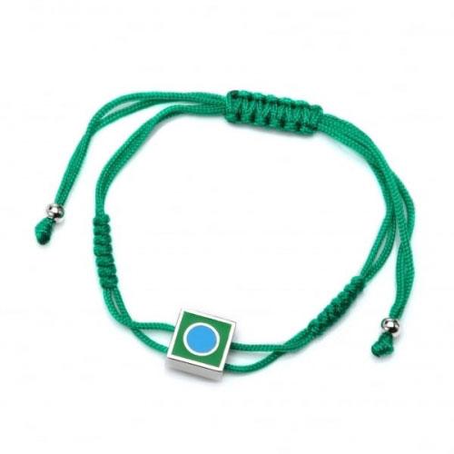 Chakra By Piya Heart Chakra Cord Bracelet