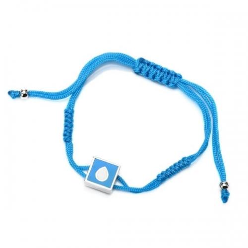 Chakra By Piya Throat Chakra Cord Bracelet