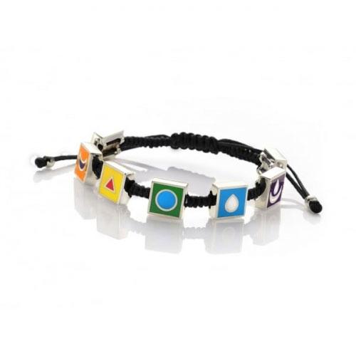 Chakra By Piya Multi Chakra Cord Bracelet