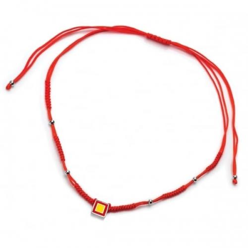 Chakra By Piya Root Chakra Cord Necklace