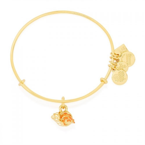 Alex and Ani Hermit Crab UNICEF Gold Bangle CBD16HCYG