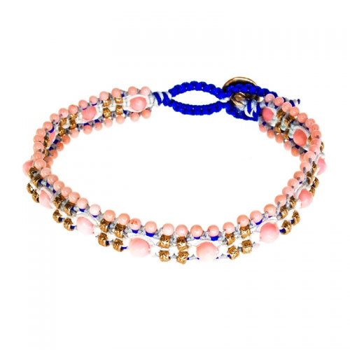 Barong Barong Pink and Rose Gold Magic Carpet Bracelet