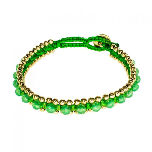 Barong Barong Jade and Green Happy Dragon Bracelet