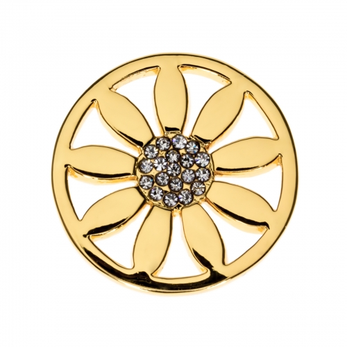 Timebeads Gold Petals Small Coin