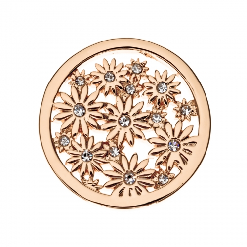 Timebeads Rose Gold Bouquet Small Coin