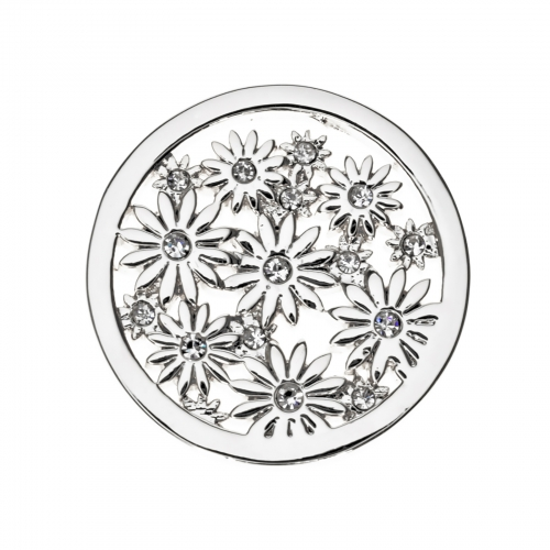 Timebeads Silver Bouquet Small Coin