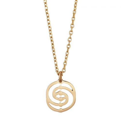 Spinning Jewelry Gold Smilla Necklace Chain 4944