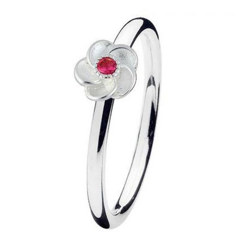 Spinning Jewelry Jasmine Stackable Ring 17610