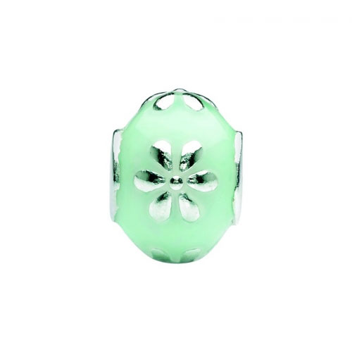 Spinning Jewelry Sunny Mint Charm 52102