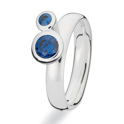 Spinning Jewelry Soul Mates Stackable Ring 80807