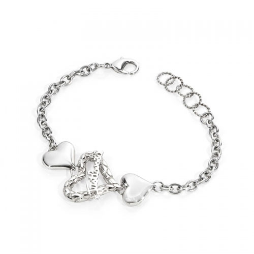 Just Cavalli Jewels Cross Heart Bracelet