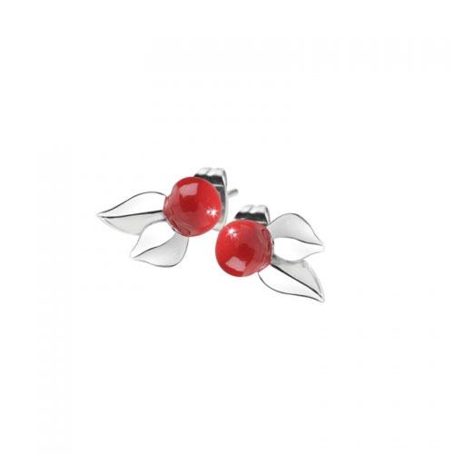 Miss Sixty Cherry Stud Earrings