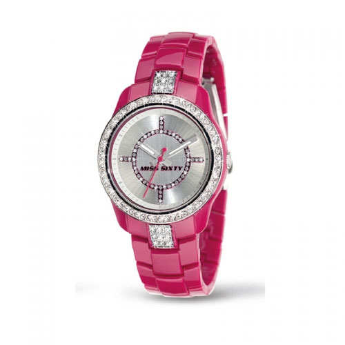 Miss Sixty Jungle Pink Watch
