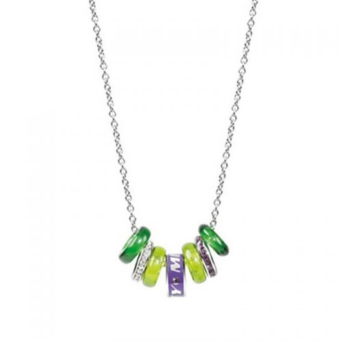 Miss Sixty Precious Seven Green Elements Necklace