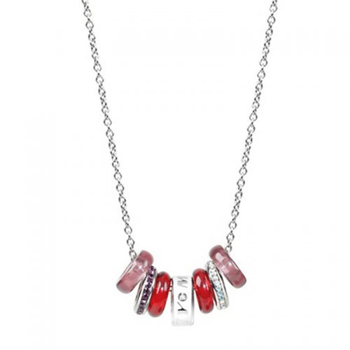 Miss Sixty Precious Seven Pink Elements Necklace
